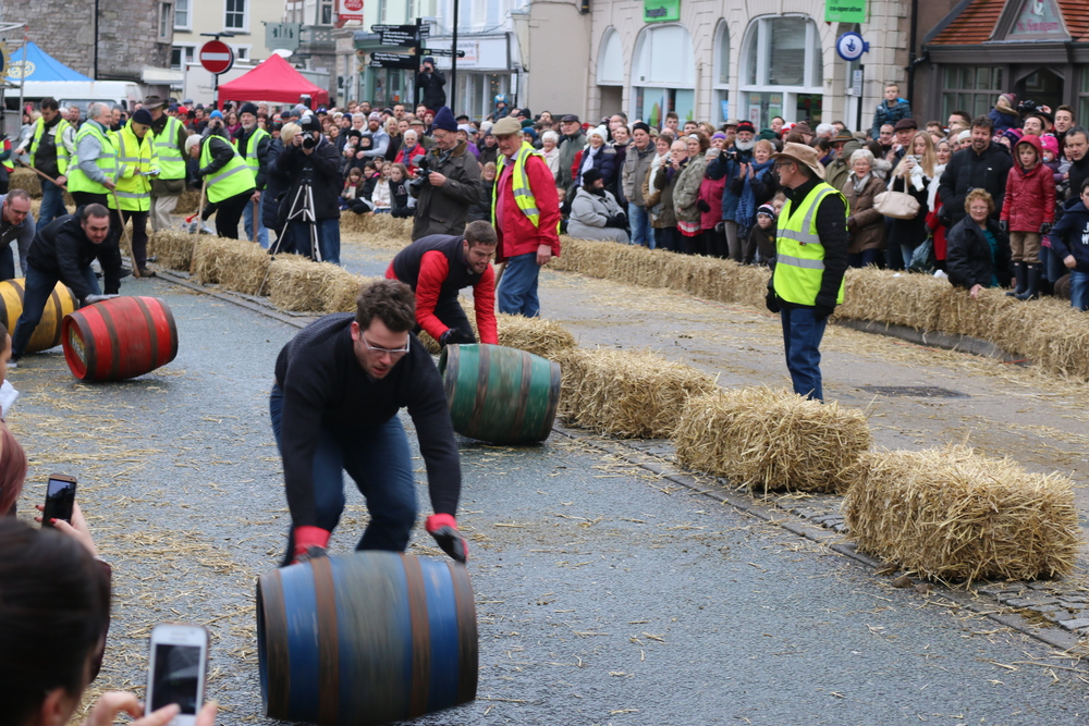 Denbigh Boxing Day Barrel Roll.