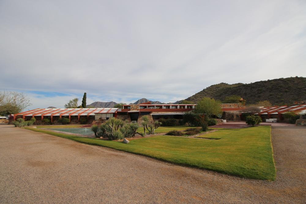 Taliesin West Scottsdale, AZ: Frank Lloyd Wright's winter residence.