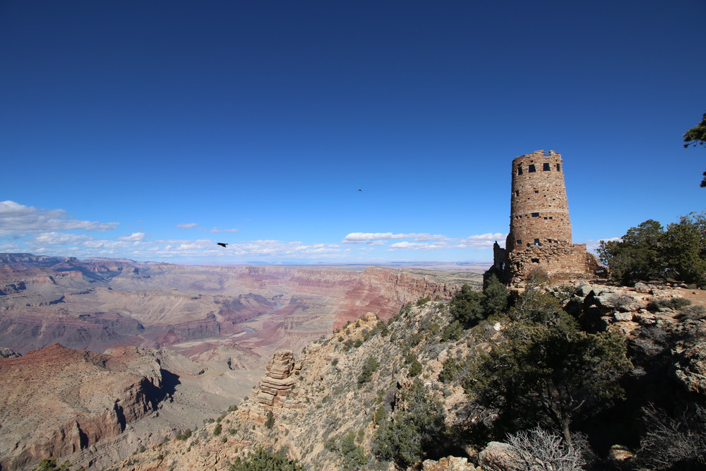 Grand Canyon NP: Desert View Watchtower.