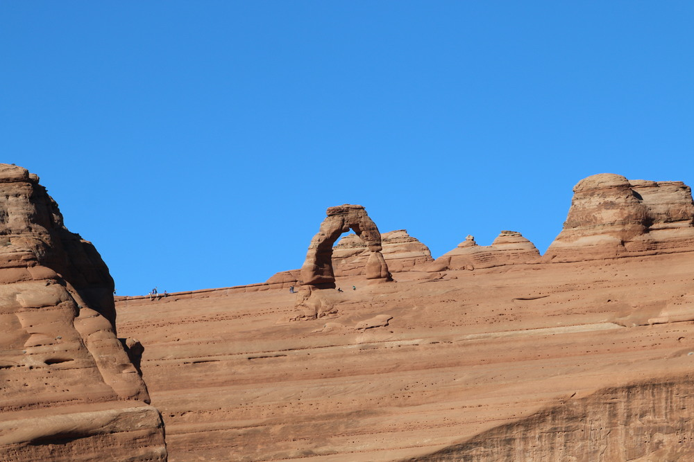 Arches NP: Delicate Arch from a distance.