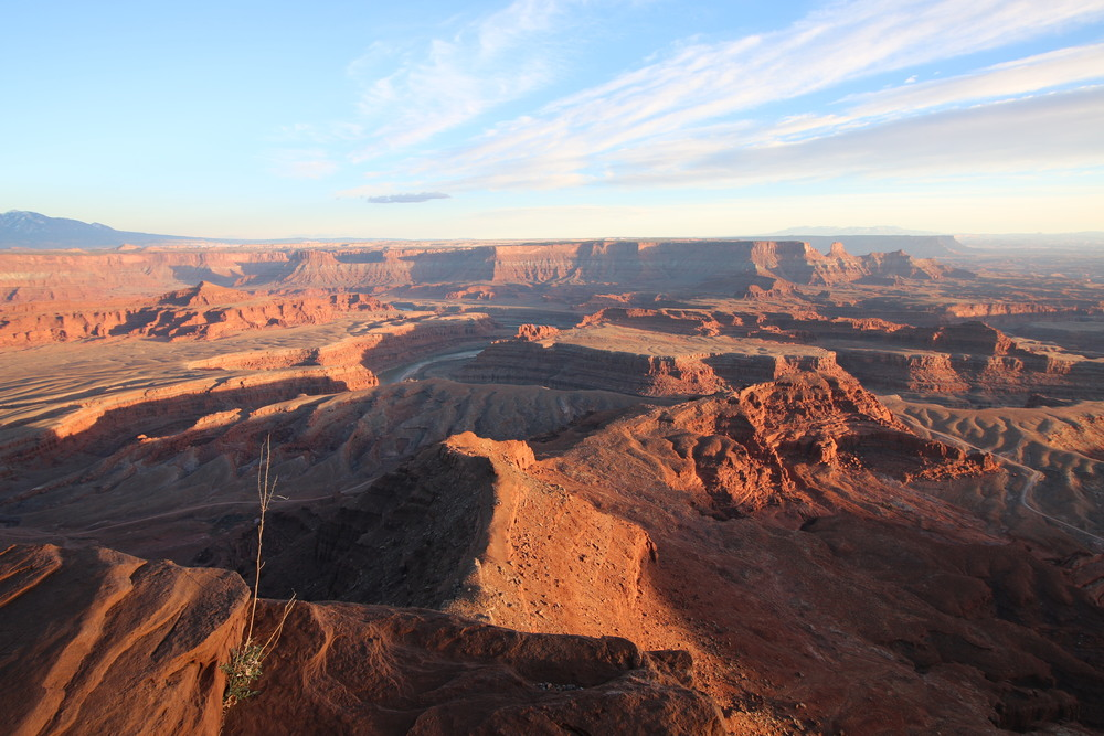 Dead Horse Point State Park: nearing sunset.