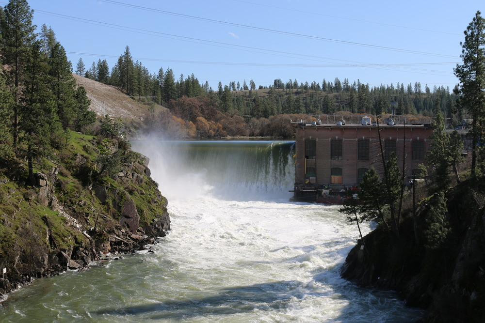 Nine Mile Falls Dam