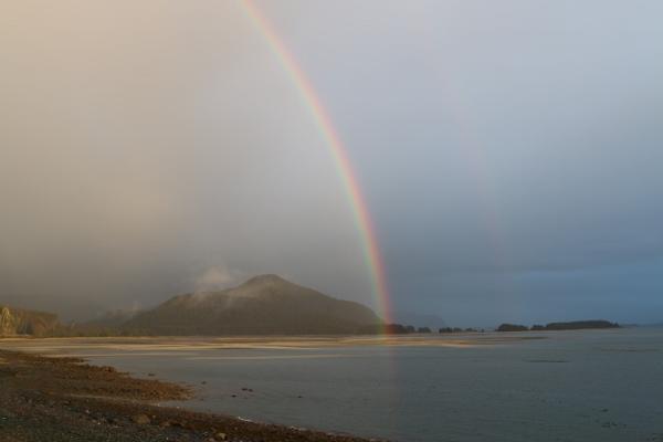 A break in the rain at Juneau