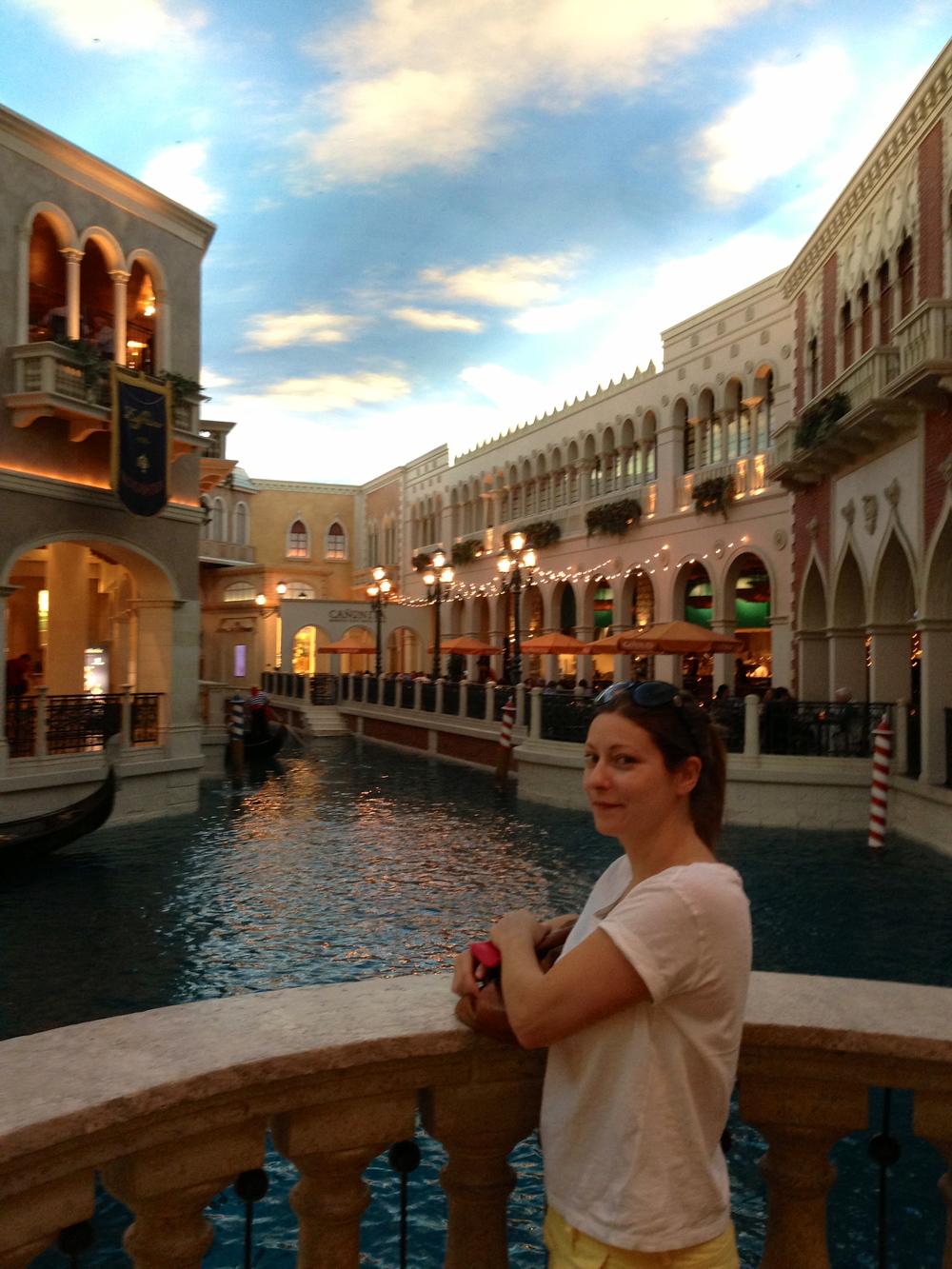 The indoor waterways of The Venetian, LV