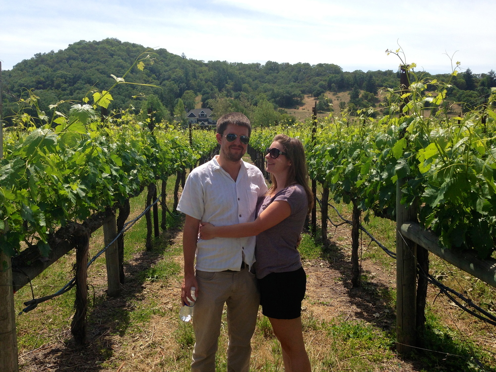 Touring the vineyards of Sonoma Valley, CA