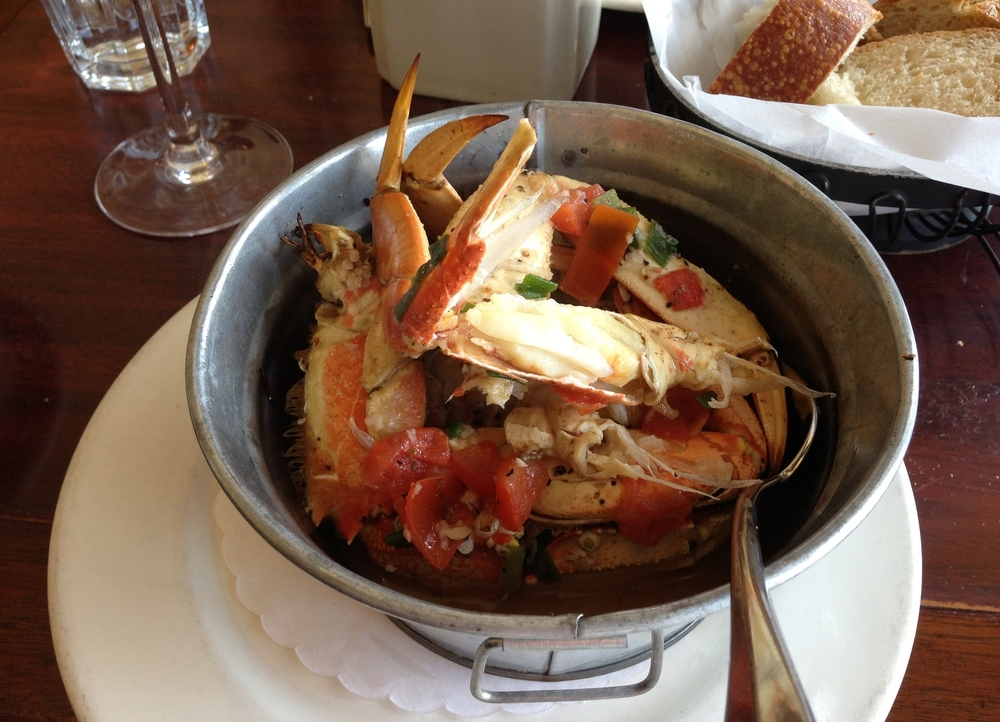 San Fran's justly famous Dungeness crab