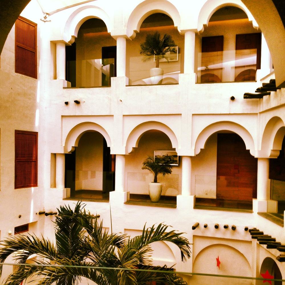 Souq Waqif Boutique Hotel atrium