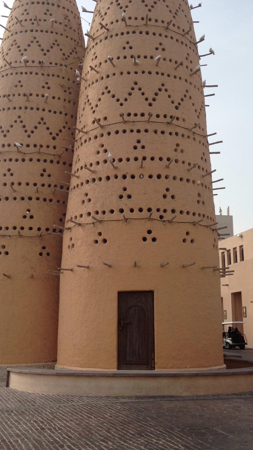 The Pigeon Towers at Katara Cultural Village