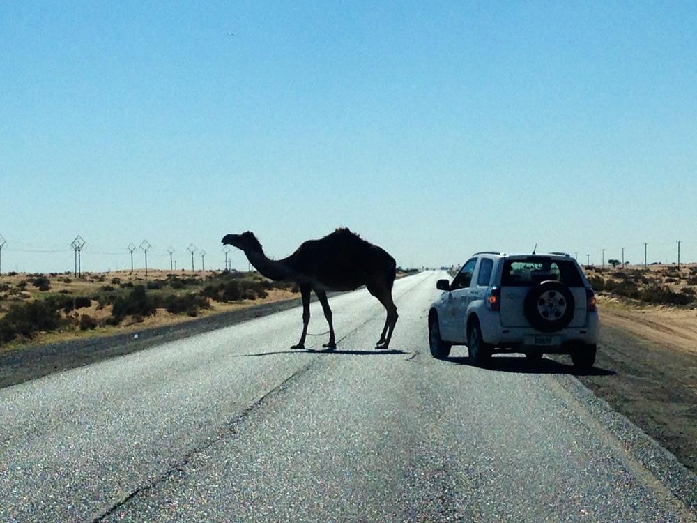 En route to Oman