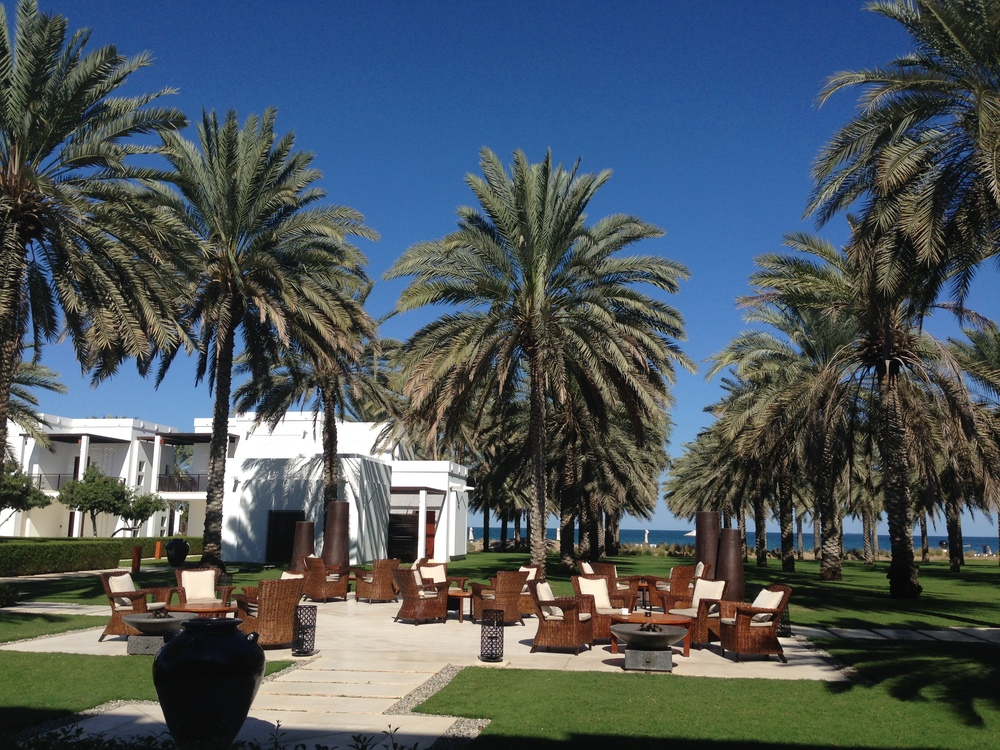 The stunning Chedi Muscat