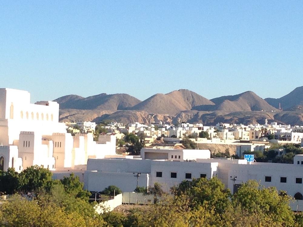 Overlooking Muscat
