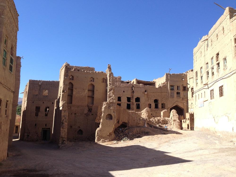 The rural hillside village of Al Hamra