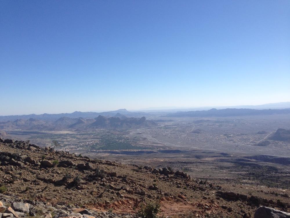 The Hajjar Mountains