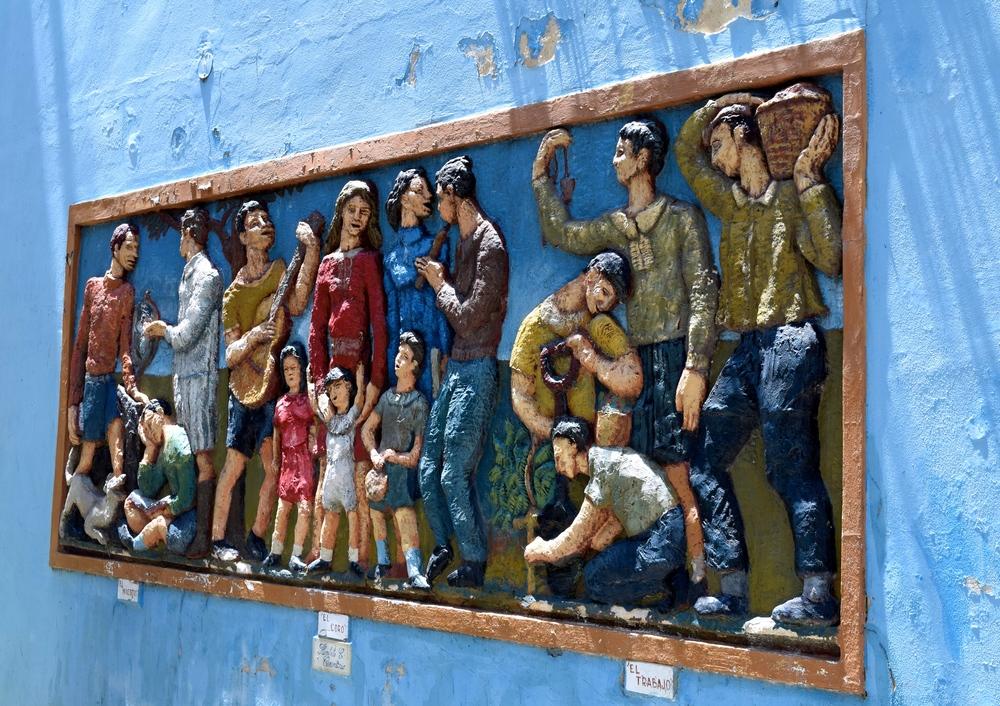 A La Boca mural