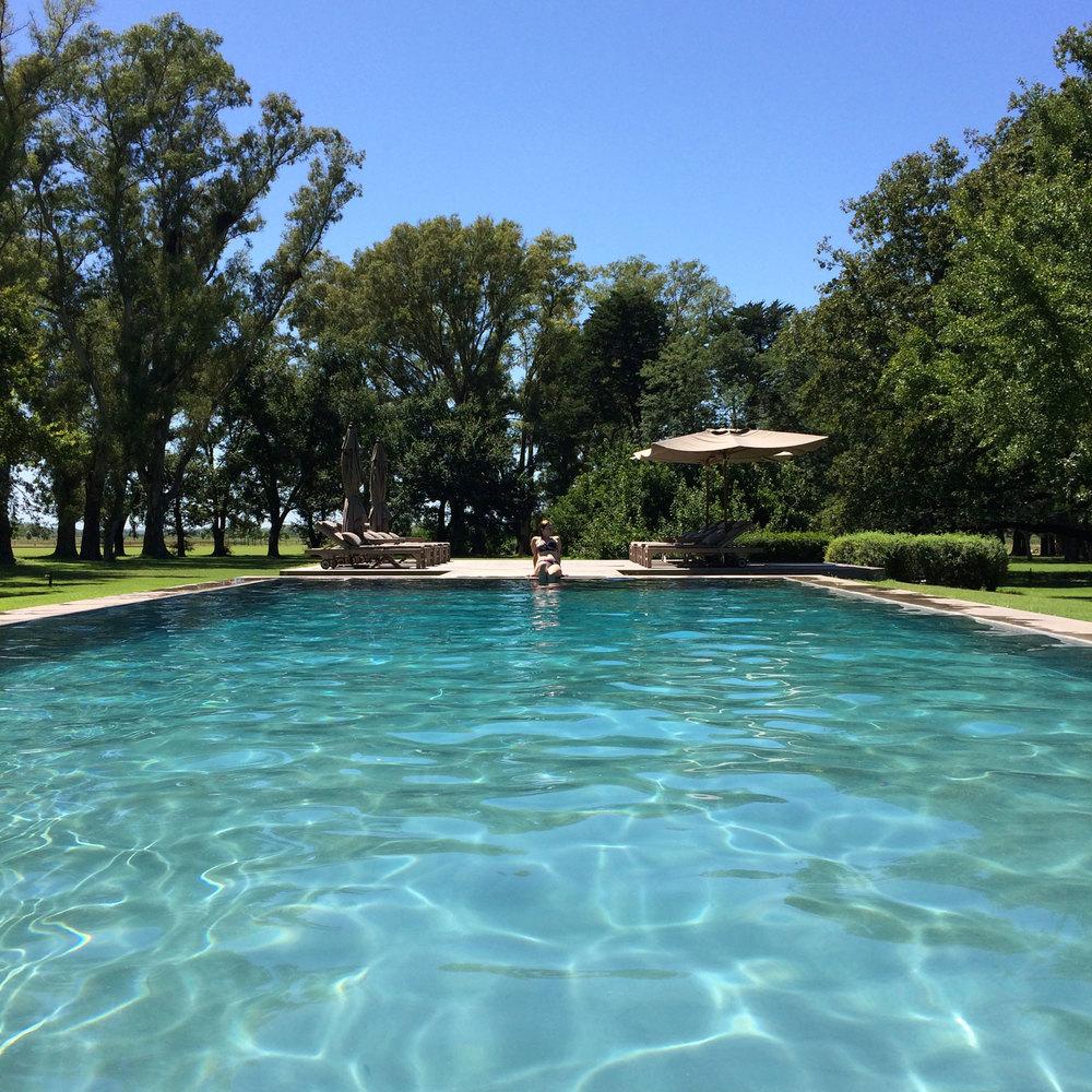 A perfect pool