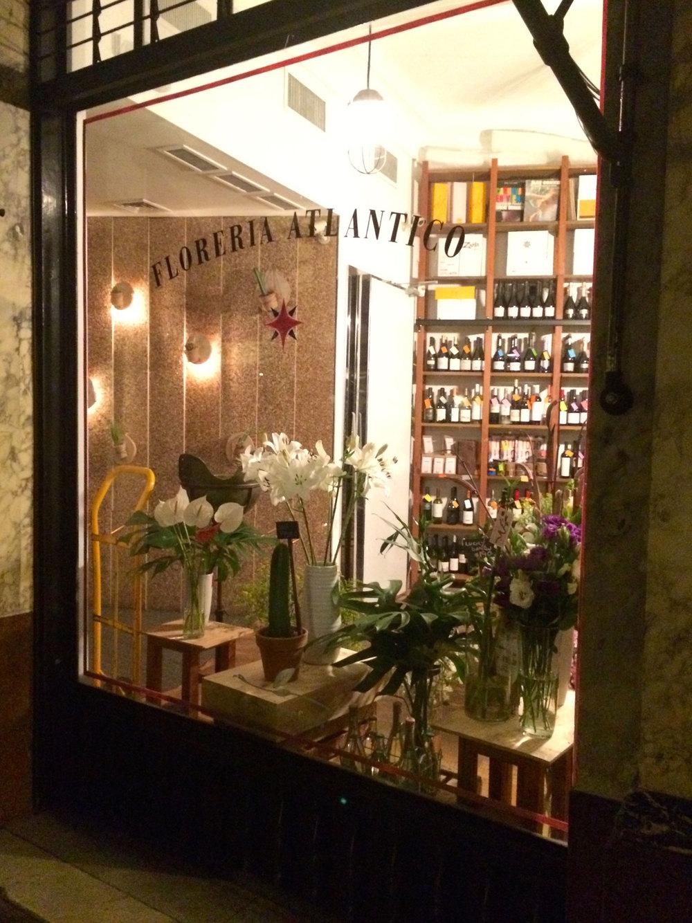 Just an ordinary flower shop...?
