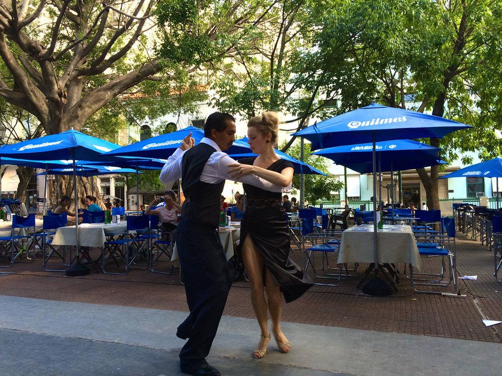 Tango time in San Telmo