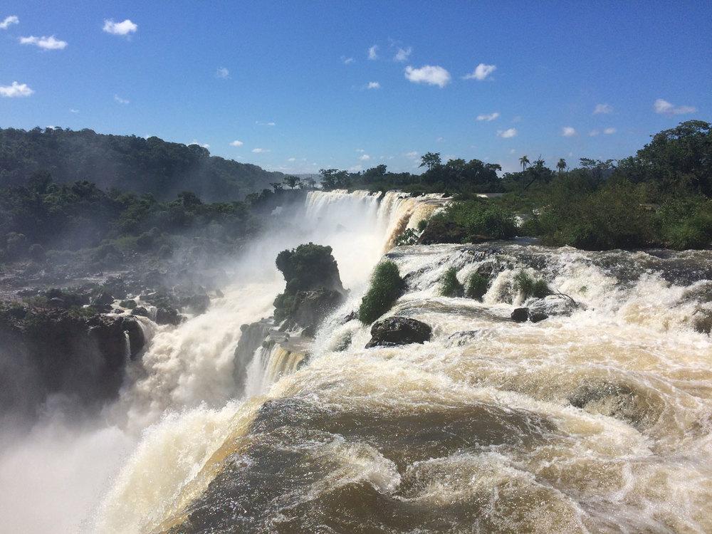 'Los Saltos': the falls