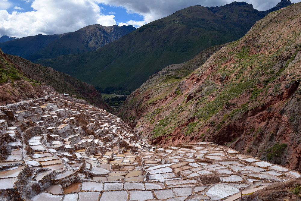 The Maras Salt Pans
