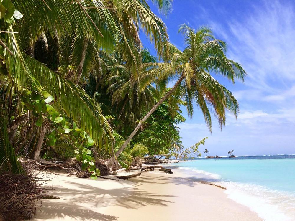 A pristine paradise
