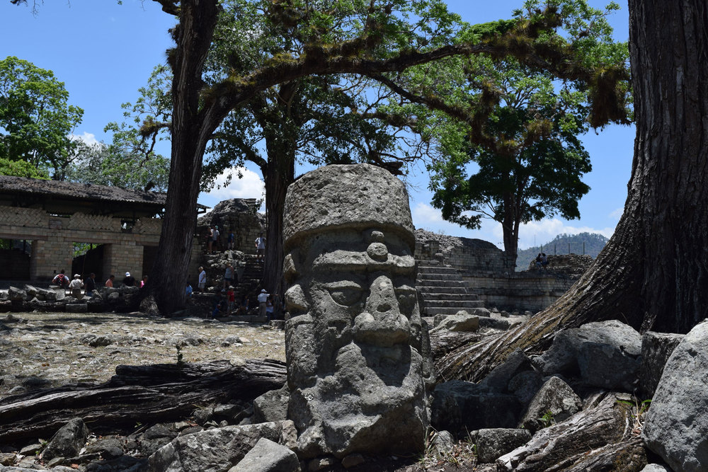 Copán boasts a wealth of sculpture - from elaborate stellae to statues of gods and rulers.