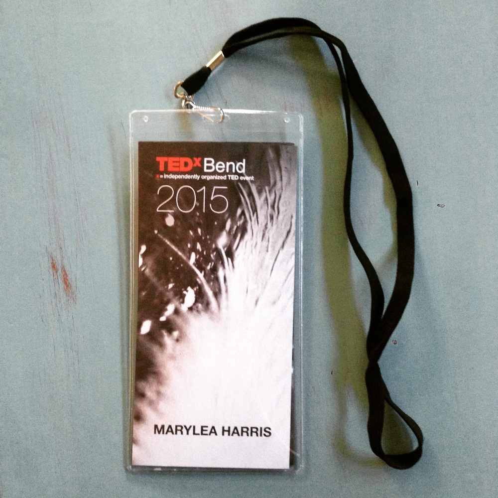 TEDxBendMaryLeaHarrisArtist