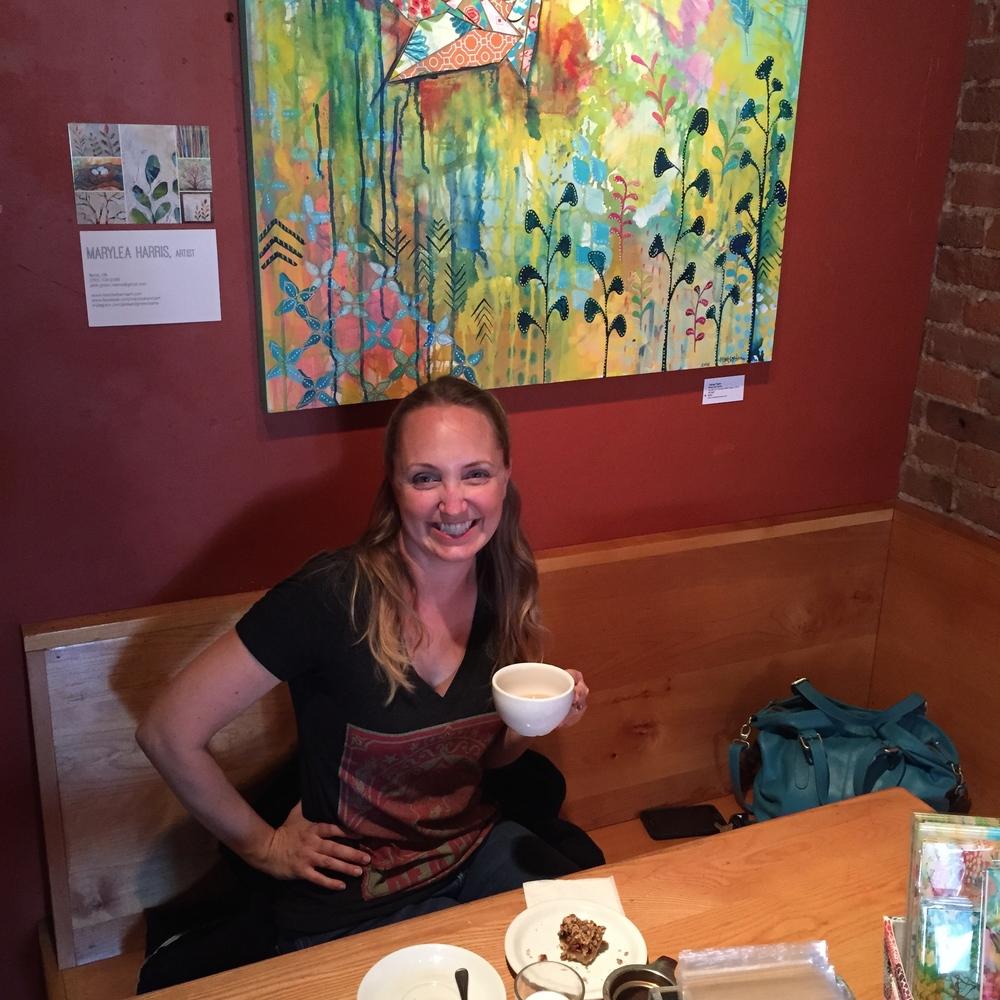MaryLeaHarrisArtatTHUMPcoffeeBend