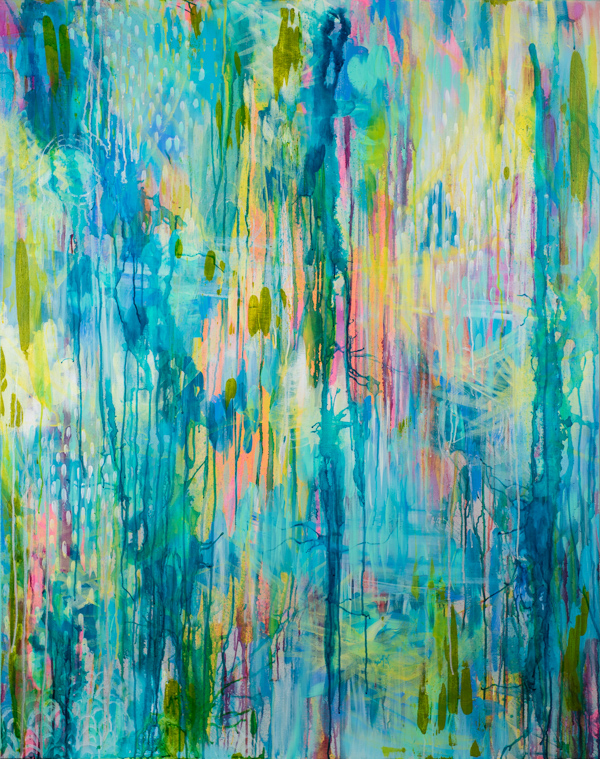 """Wherever You Are"" 2016, MaryLea Harris 48"" x 60"""
