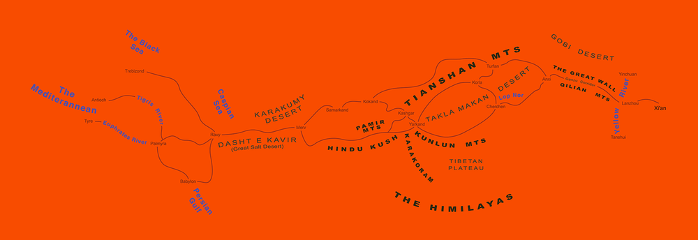 Silk Road TypeMap , 2008