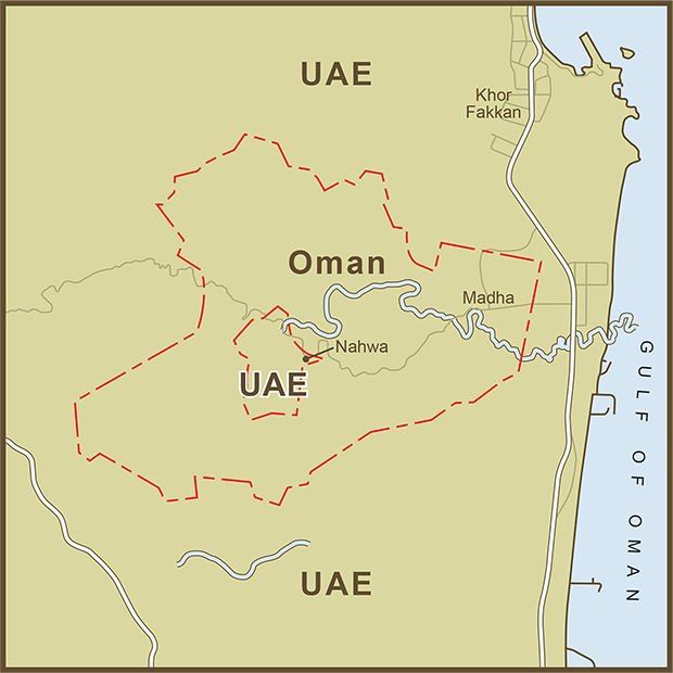 Oman-UAE, Exclave Map.png