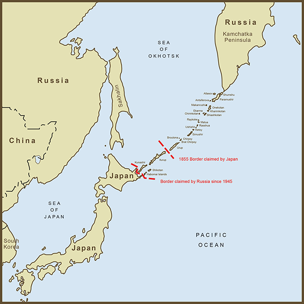 Japan-Russia, Kuril Islands Map.png