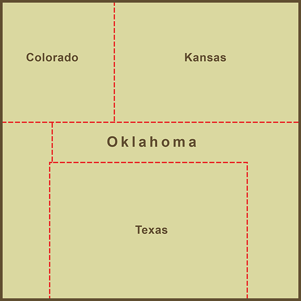 Oklahoma, Panhandle Map.png
