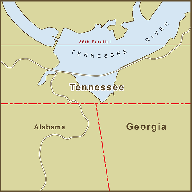 Georgia-Tennessee, Water Border Map.png