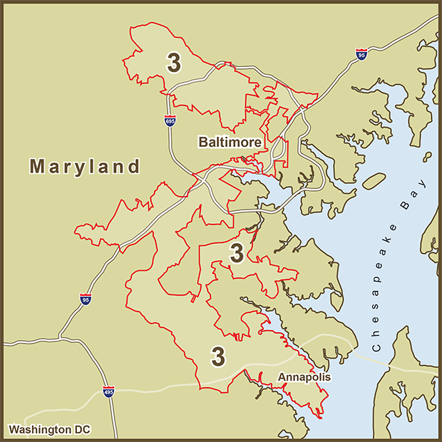 Maryland, Election District 3.png