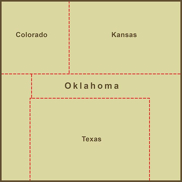 Oklahoma, Panhandle Map.png