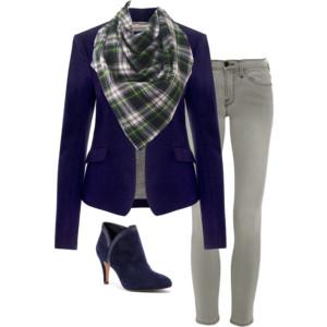blazerscarf