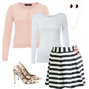 Pink Cardigan Style