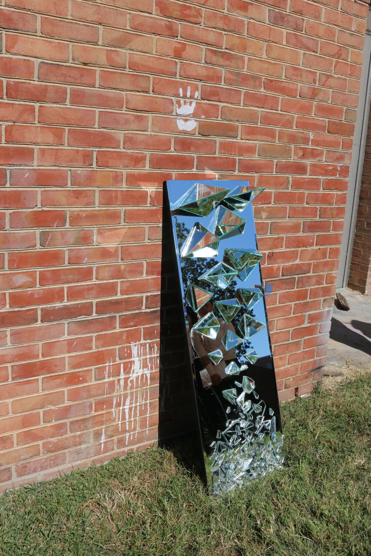 Kari Gillman  3d Fundamentals  Project: 30 Yards  Mirror sculpture.