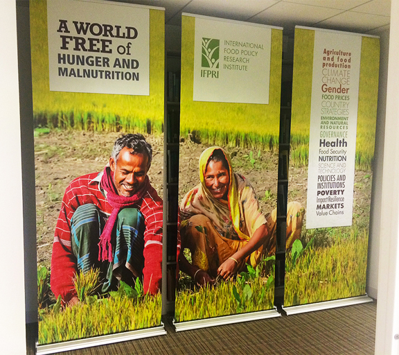 IFPRI Event Banners (set of 3)