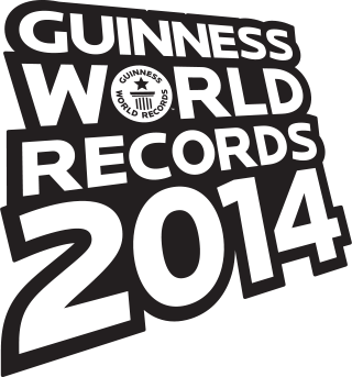 Check out the Guinness World Record I completed with an amazing group of people in  2014 !