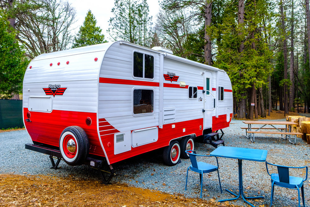 The new retro RV available for the entire family.
