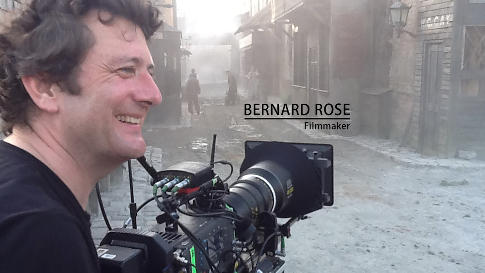 Director Bernard Rose. He'll be in Baton Rouge May 9th for the American Premiere of his new film Fankenstein, at the Louisiana International Film Festival. Credit: bernardrosedirector.com.