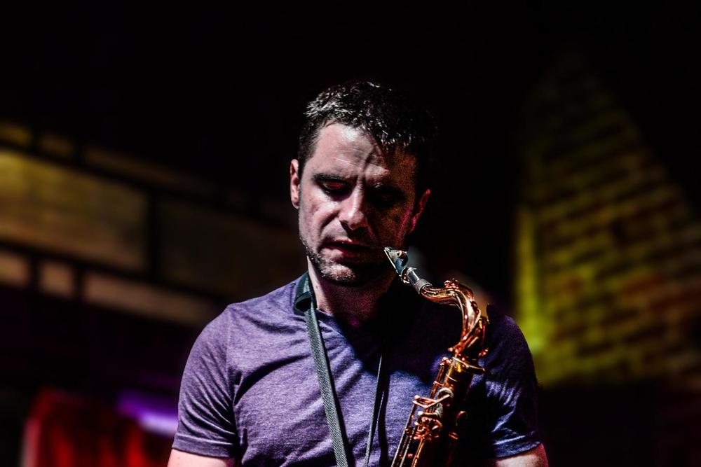 Jazz Musician and Saxophonist Brad Walker will perform with his Quintet Thursday May 14th at the Shaw Center for the Arts as part of the Jazz Listening Room Series. Image Credit:   schedule.sxsw.com