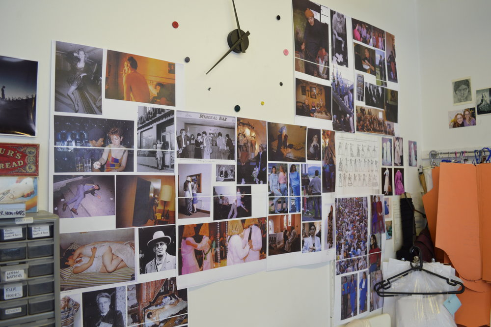 Moodboard in the cutting room