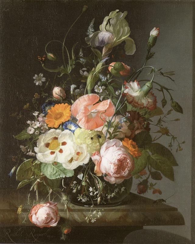 Painting byRachel Ruysch, Dutch 1716