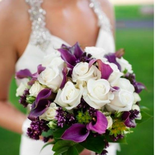 White Purple Callas bouquet .png