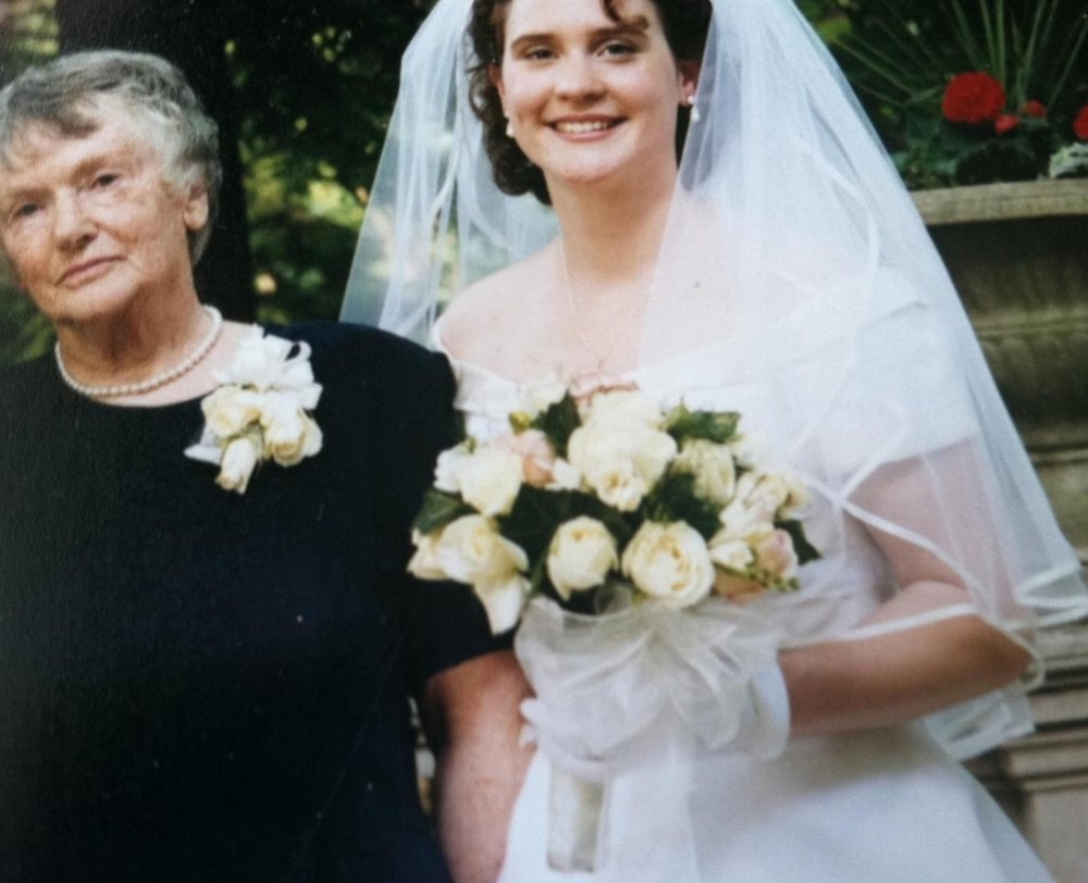 Sybil Coupar and Jennifer Morris, June of 1996