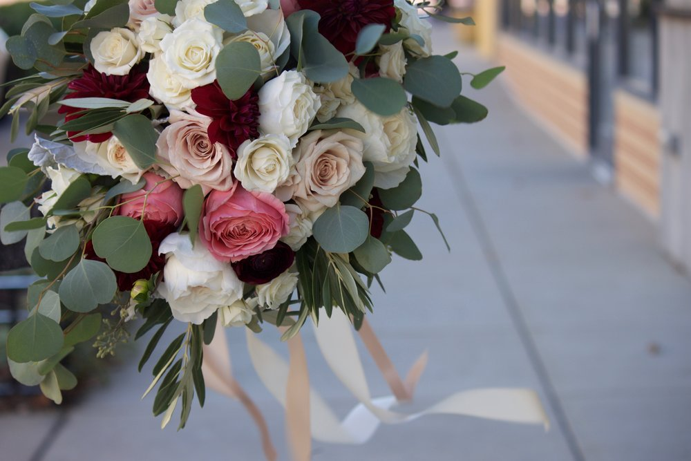 """Greeneries are the common element between floral bouquets and """"greens-only"""" accents."""