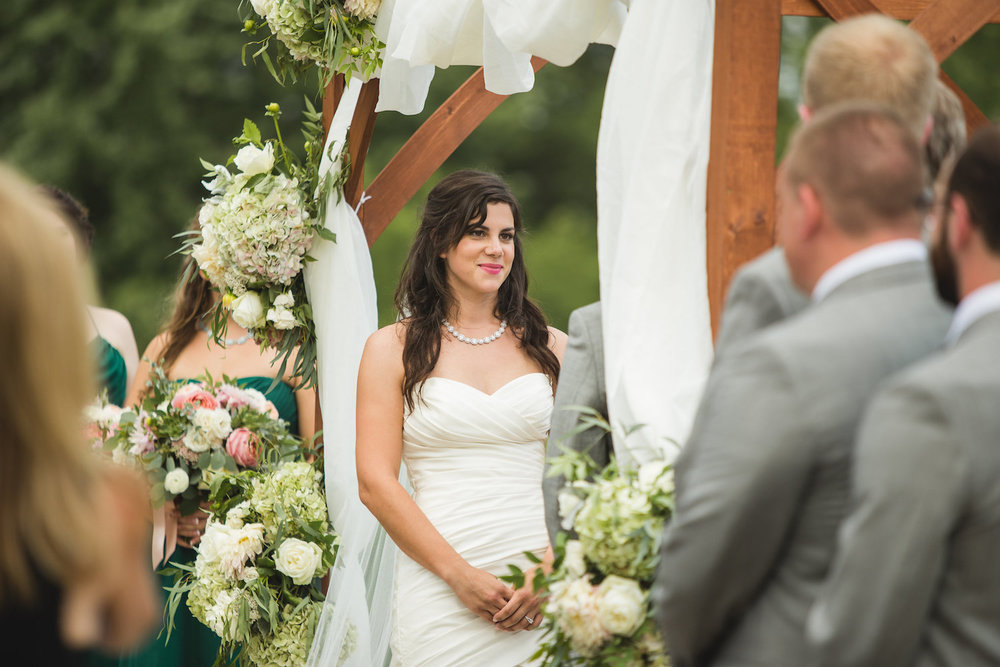Chuppah provided by client, stylized by J. Morris Flowers, photography by Carly Romeo.