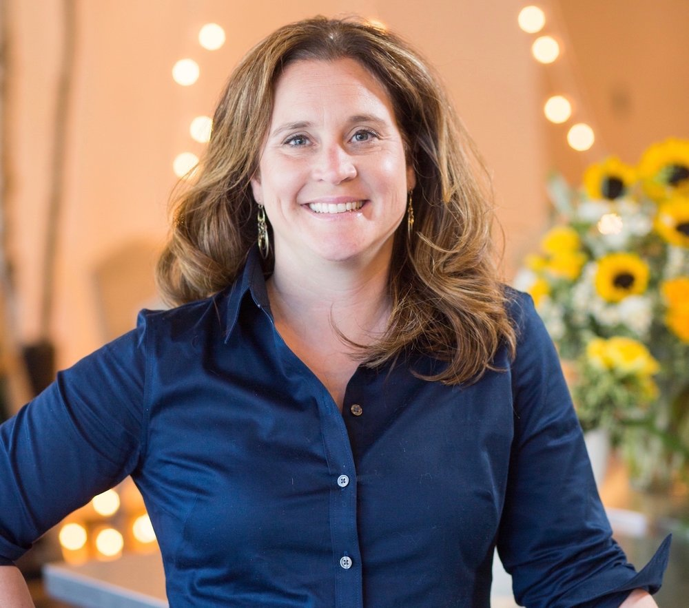 Jennifer Morris, owner of J. Morris Flowers, Leesburg, Virginia